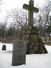 Canadian Memorial - Vladivostok Marine Cemetery - March 2008