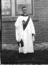 Edwin Stephenson's ordination - May 1918