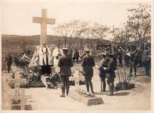 L\'inauguration du monument commémoratif canadien - Vladivostok - 1 June 1919